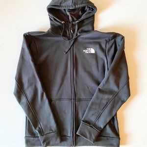The North Face Black Zip Up Hoodie Size Large